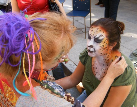 Face Painter and Body Painting