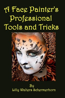 Book about Face Painting for Advanced Face Painters