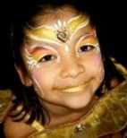 Face Painter Painting Princess in Claremont, La Verne, Upland, Montclair, Rancho Cucamonga, San Dimas, Pomona