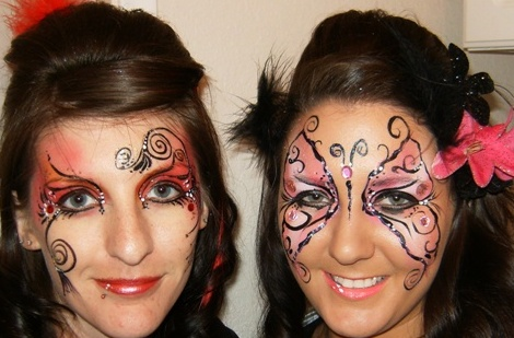 Face Painting for Dances, Proms and Parties