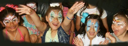 face painter face painting in Claremont, La Verne, Upland, San Dimas, Montlclair, Pomona, Big Bear Lake